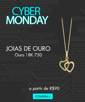 Black friday - joias de ouro