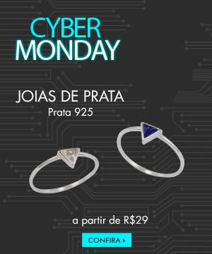 Black friday - joias de prata