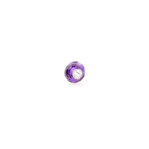Berloque-Prata-e-Cristal-Roxo---Joy-Decorativo