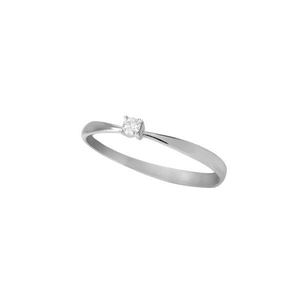 Anel-Solitario-Ouro-Branco-18K-Diamante-5-pontos---Endless-