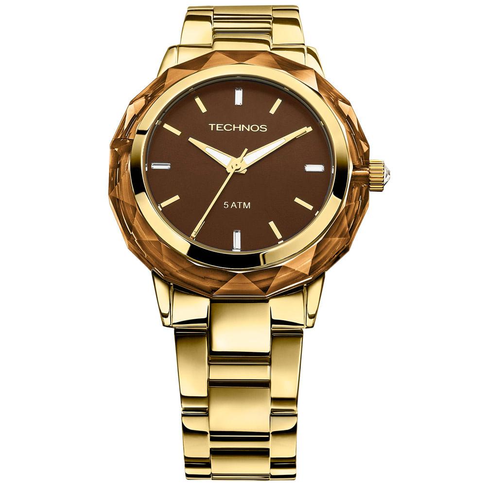 Relógio Technos Crystal Feminino Analógico - 2035MCM 4M - cljoias 780be79506