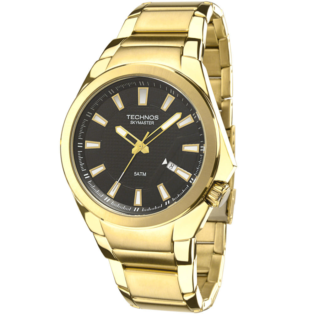 ce70d59d132 Relógio Technos Skymaster Masculino Analógico - 2315ACA 4P - cljoias