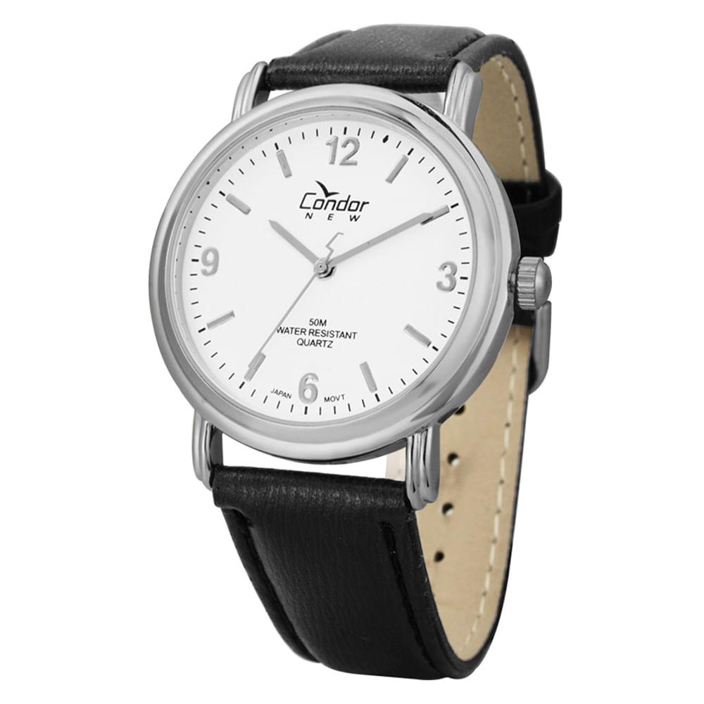 66f3e1de35cee Relógio Condor Masculino CO2035AF 3B - cljoias