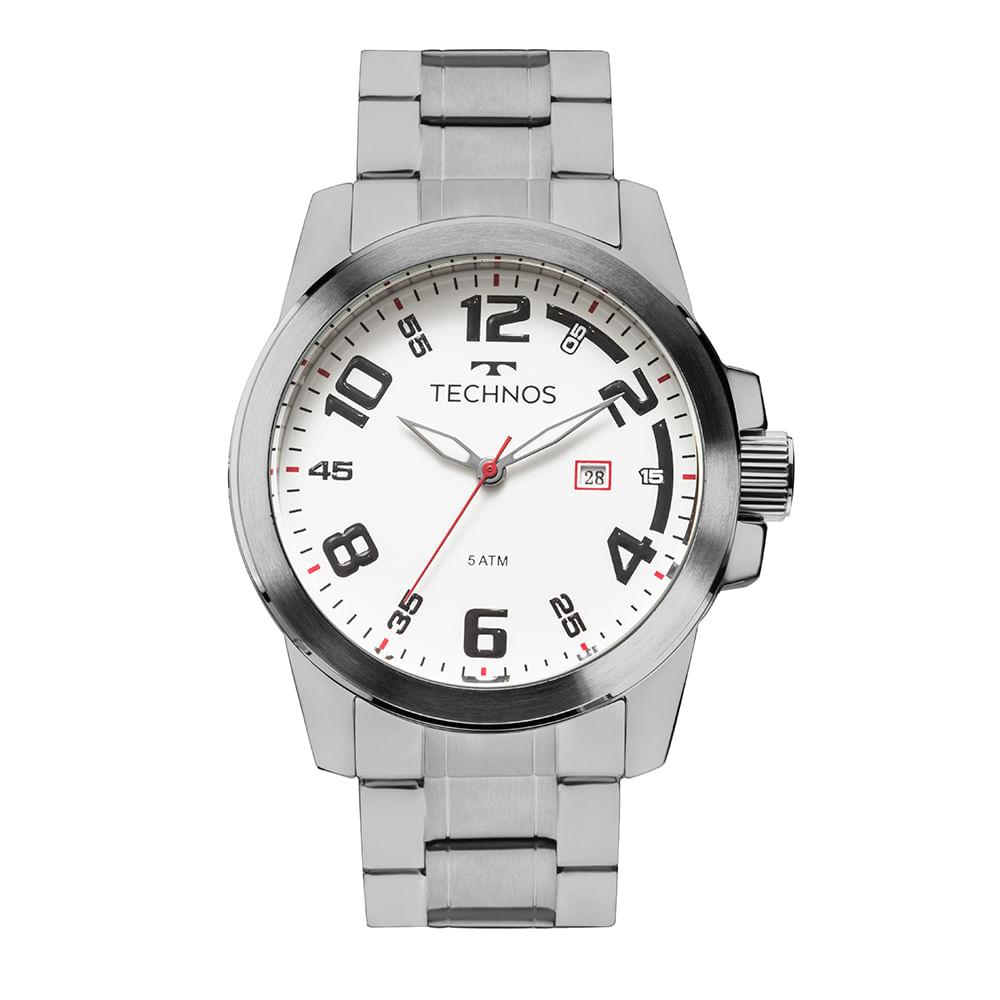 fe6cb881763 Relógio Technos Masculino Racer 2115MGR 1B - cljoias