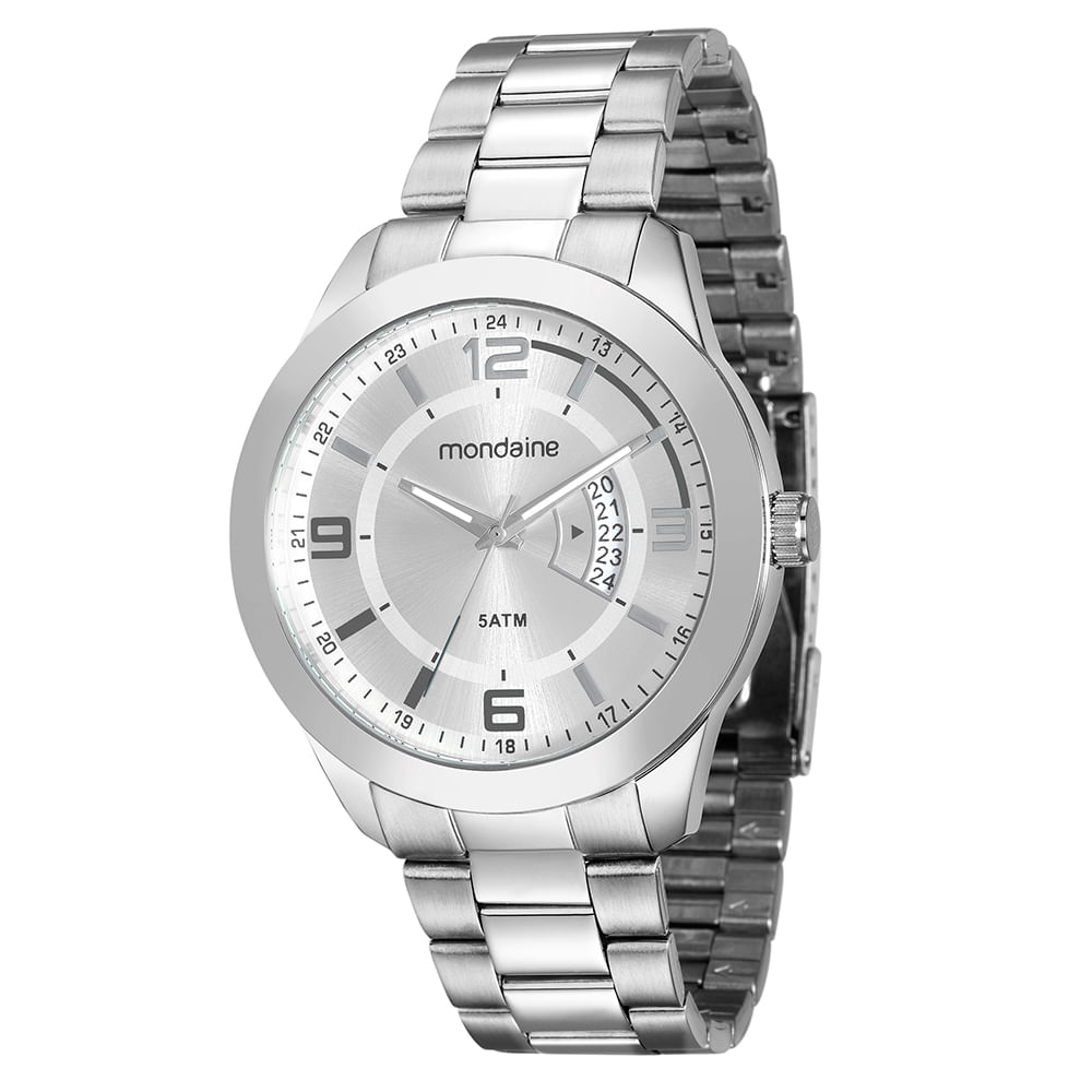 Relógio Mondaine Masculino 78720G0MVNA2 - cljoias a38c95165c