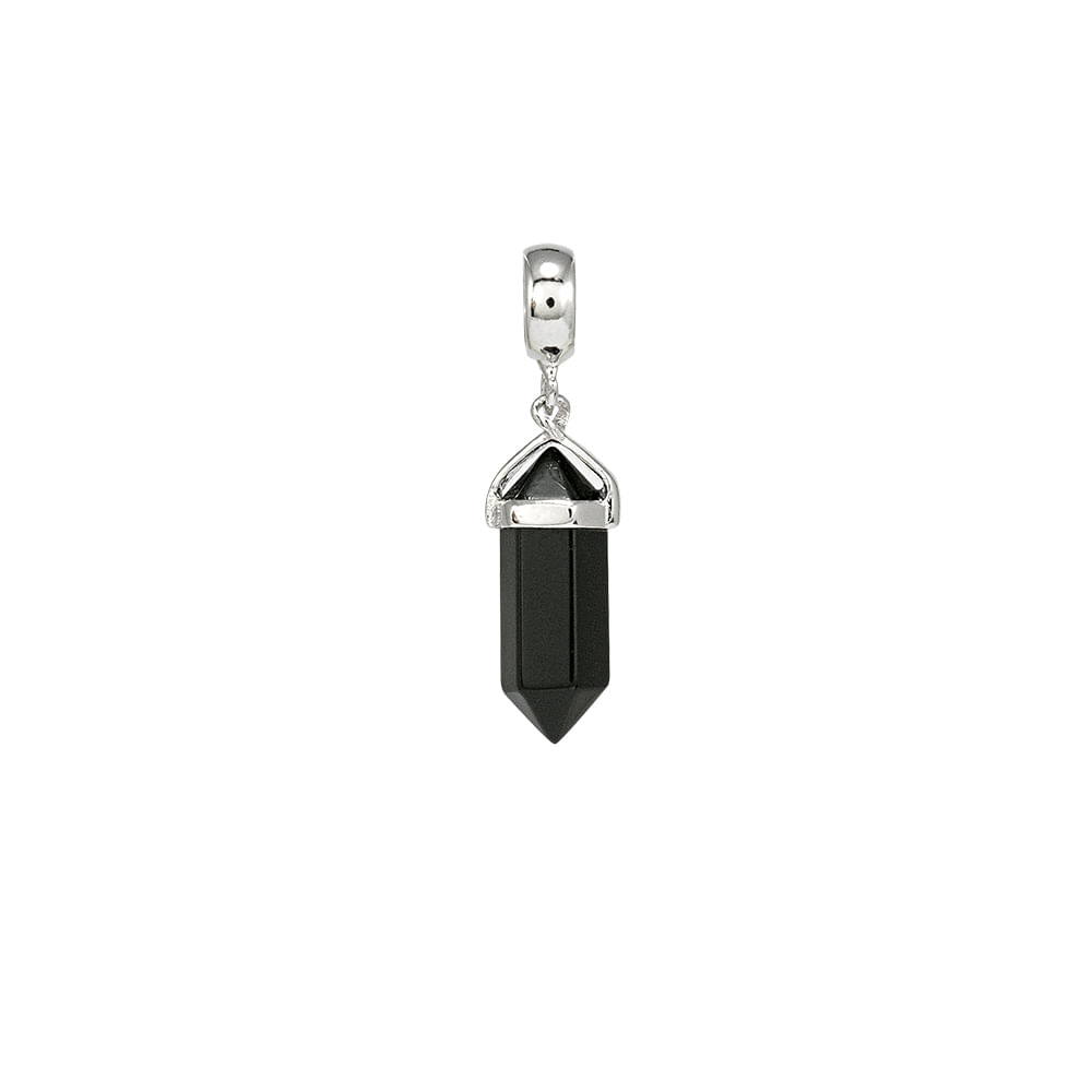Pingente-Prata-925-obsidiana-Joy-Sorte-P05550-3-PALITO-NEGR-P05550-3 ... 7d96c18360