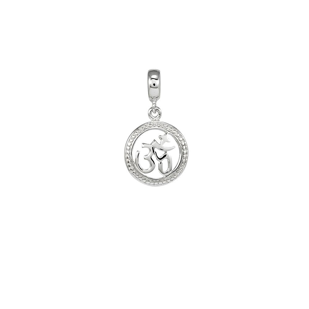 Berloque Símbolo OM Prata 925 - Joy Sorte - cljoias 7a67f3d241