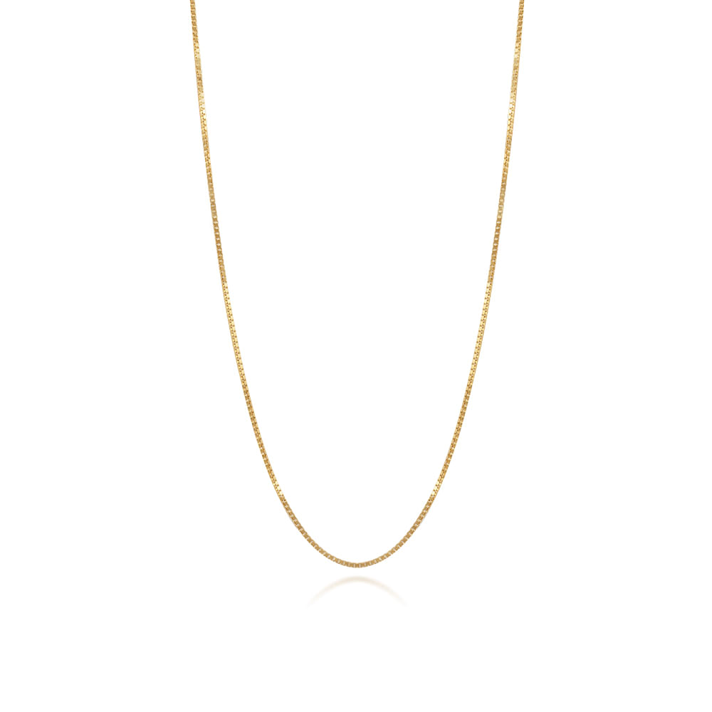 713b57973bbdf Corrente Ouro Amarelo 18K Malha Veneziana CO VENEZ VEC35045-45 - cljoias
