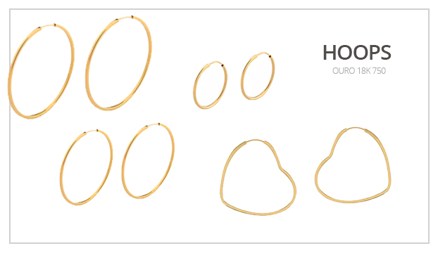 Hoops ouro